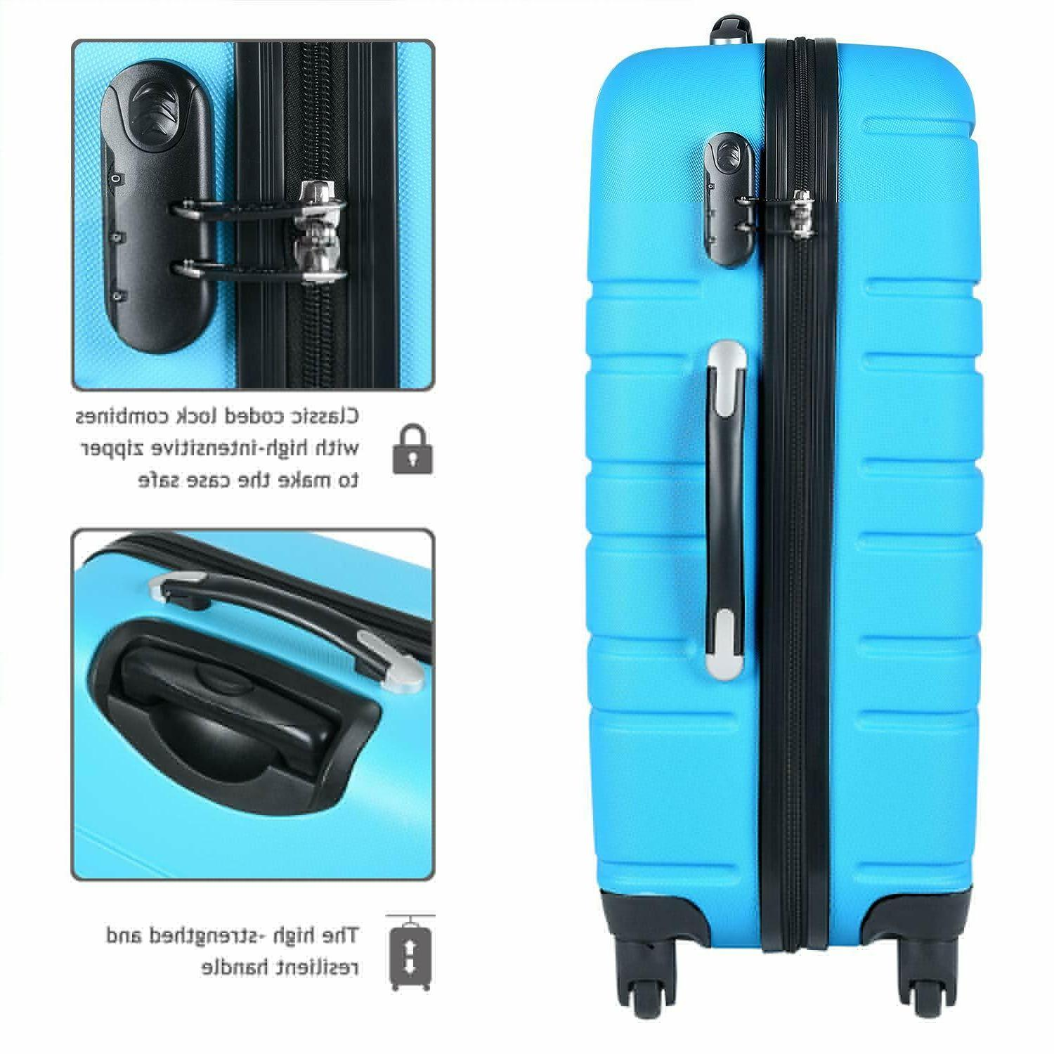 Travel 3 Hardside Rolling Luggage Sets with Spinner
