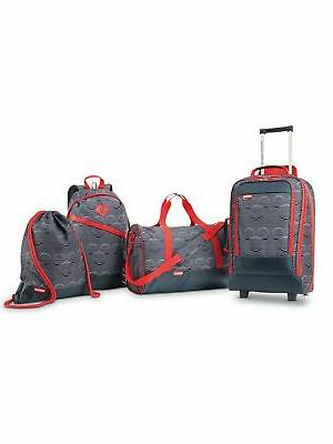 mickey 4 piece luggage set mickey mouse
