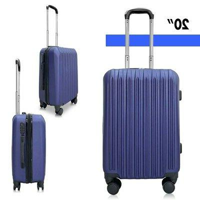 Set Luggage Set ABS Rolling Shell Suitcases