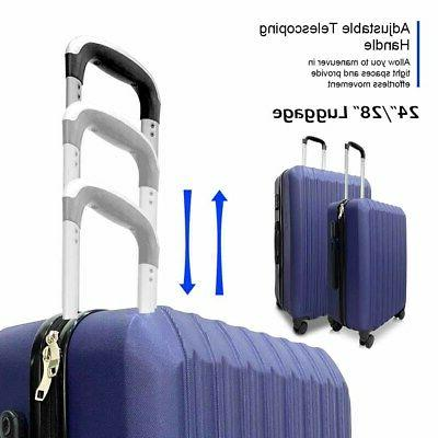 Set 4 Luggage Rolling Spinner Suitcases