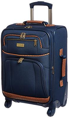 Tommy Bahama Mojito 20 Inch Expandable Spinner, Navy, One Si