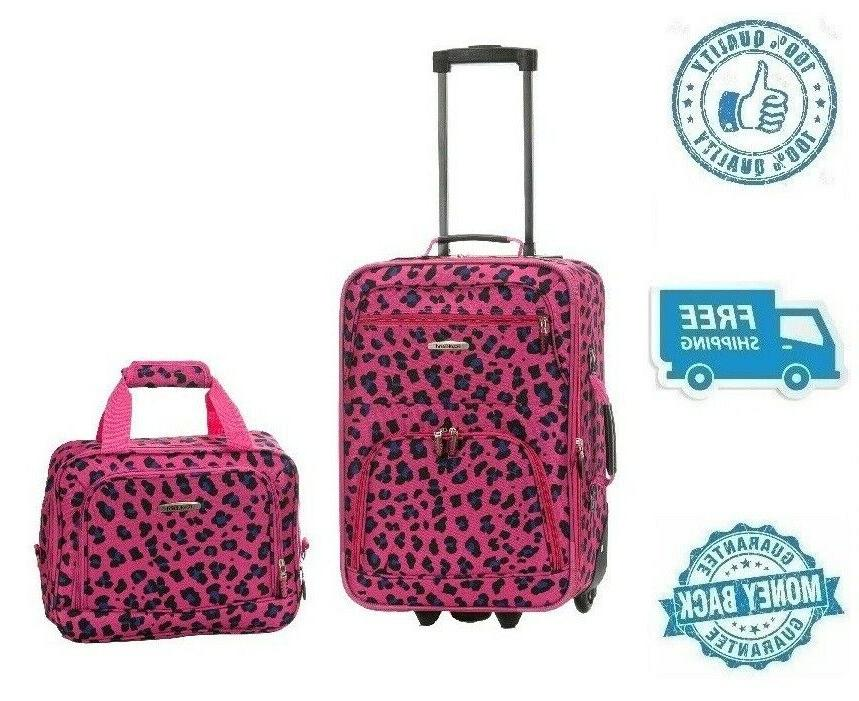 new 19 pink women carrier luggage set