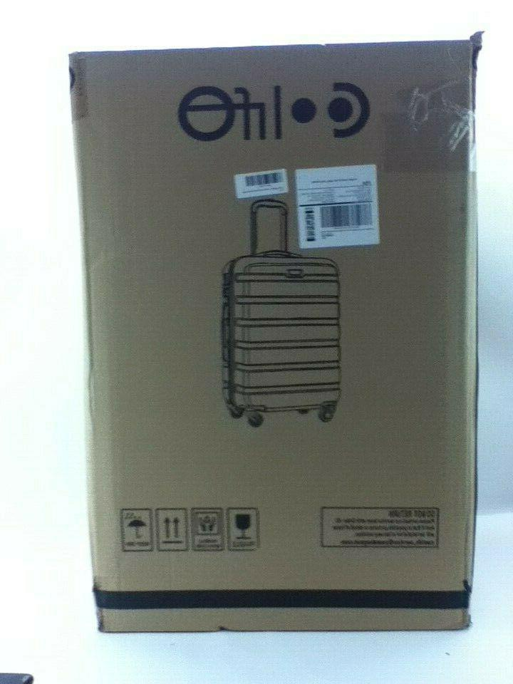 new luggage 4 piece set suitcase spinner