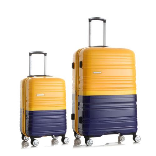 New Set Hard Spinner Suitcase Lock Colorful
