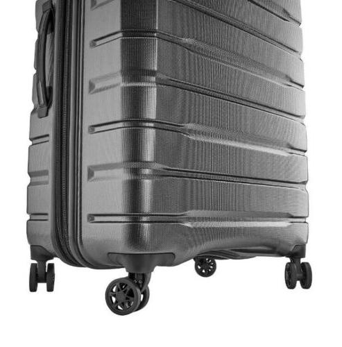 NEW Samsonite Tech 2-Piece Hardside Luggage Gray