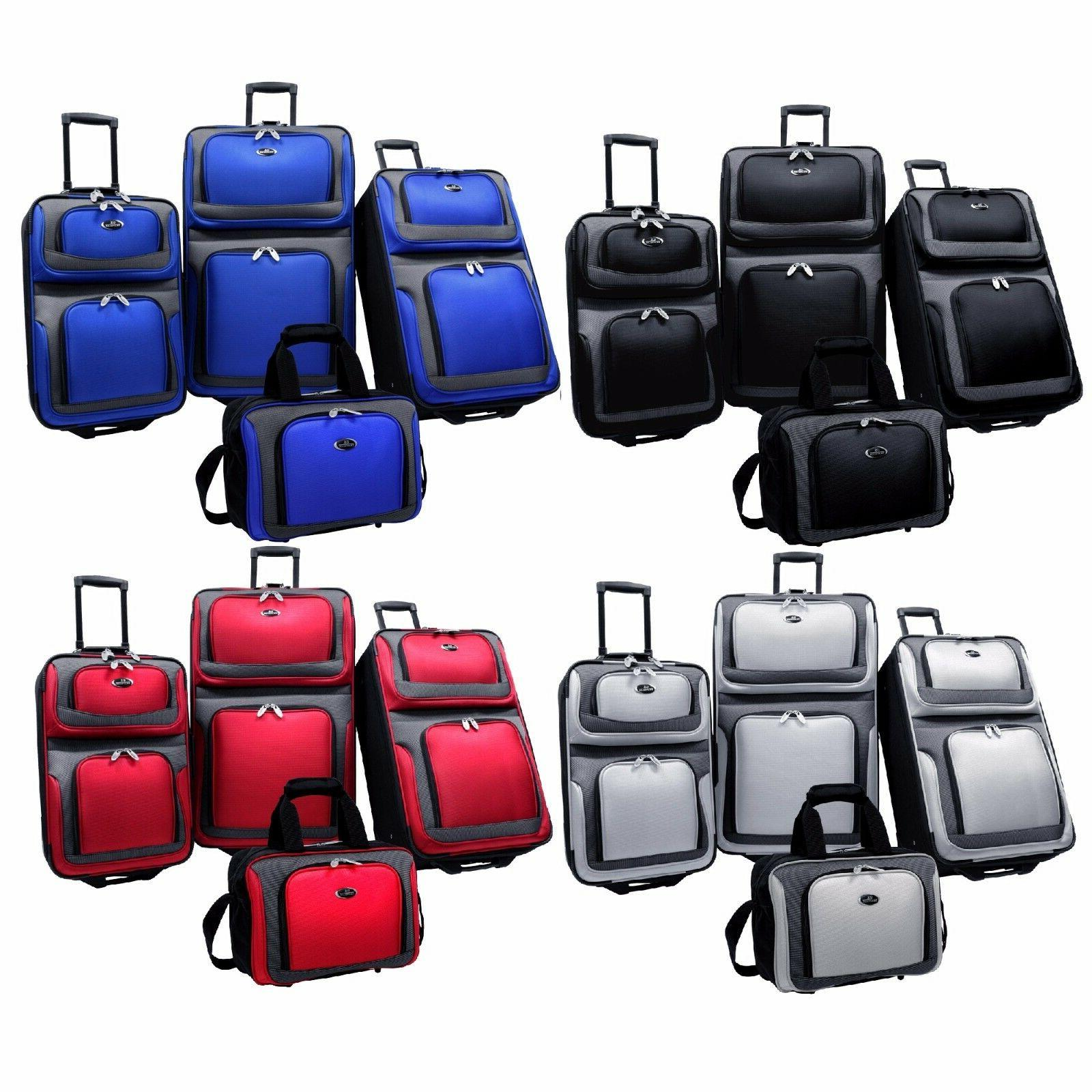 new yorker 4 piece light expandable rolling