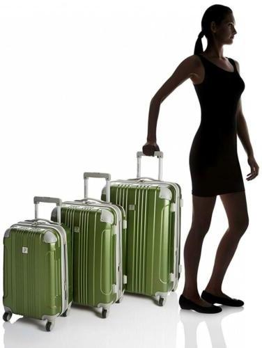 Newport 3-Piece Spinner Luggage Set,...