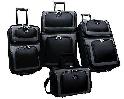 U.S. Traveler 4-Piece Luggage