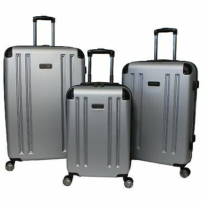 reaction hardside 3 piece expandable spinner luggage