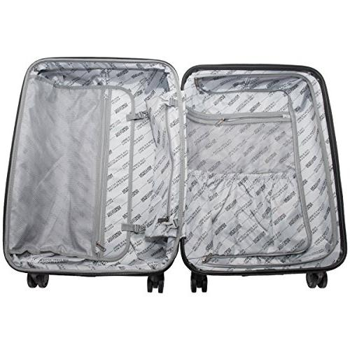 """Kenneth 8-Wheel Set: Carry-On, 24"""", 28"""" Luggage, Gold"""