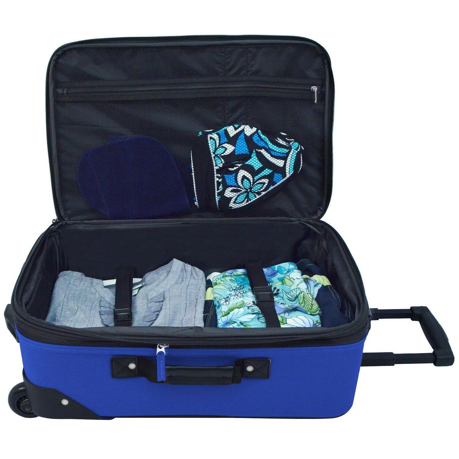 Carry-on Lightweight Expandable Suitcase Bag