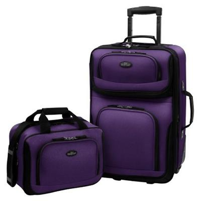 carry on rio purple rolling lightweight expandable