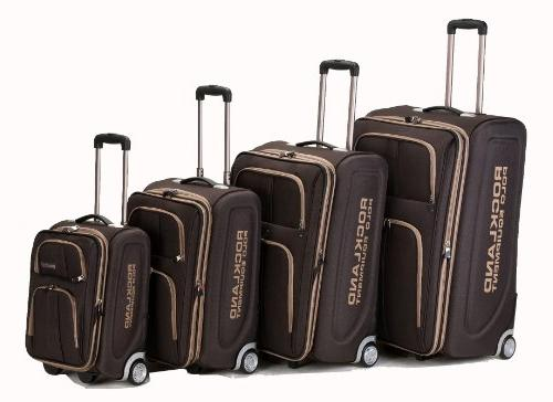 4 Piece Rockland Luggage Set by Fox
