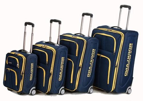 rockland polo luggage set