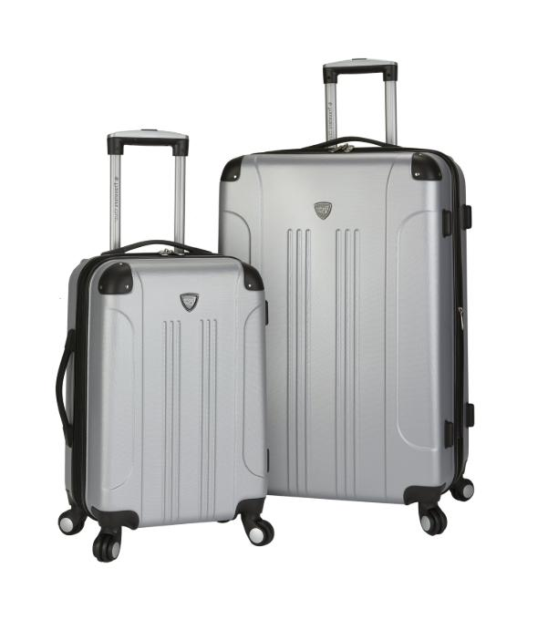 Silver Club 2 Piece Expandable Side Luggage