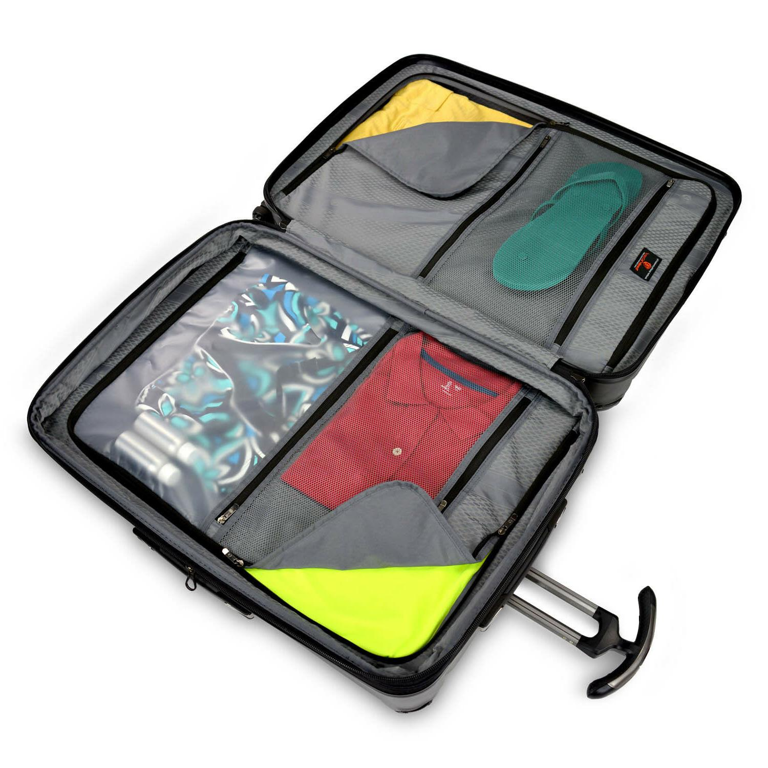Expandable Spinner Luggage