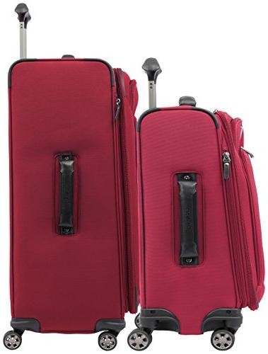 "Travelpro Skypro Lite 2-Piece Expandable Luggage Spinner Set: 29"" and 21"""