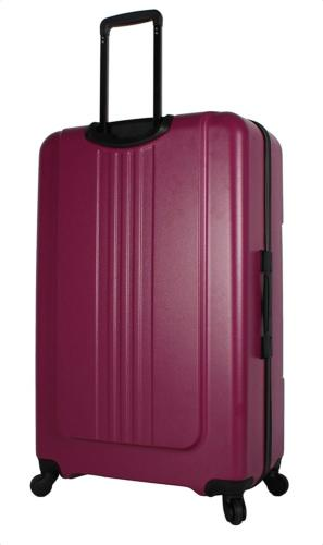 Steve Madden B-Stripe Suitcase With Wheels
