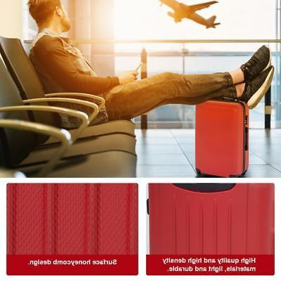 Suitcase Piece Travel Carry with Password Lock
