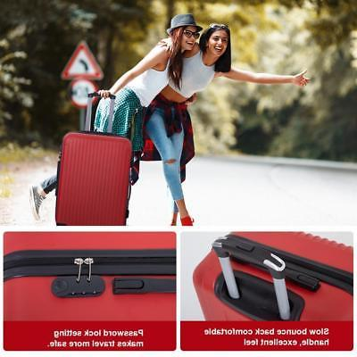 Suitcase Luggage Piece Carry Expandable with Password Lock