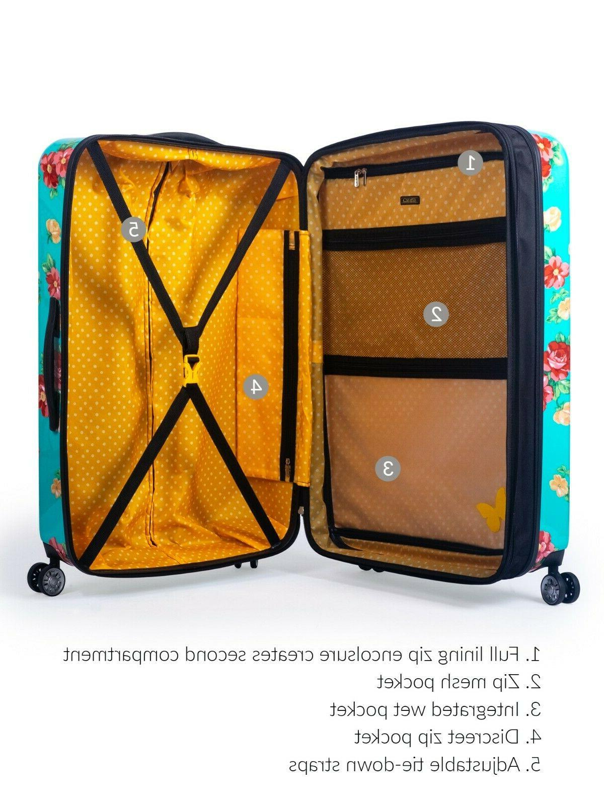 The Woman Hardside Luggage Piece Carry-On and Checked Luggage