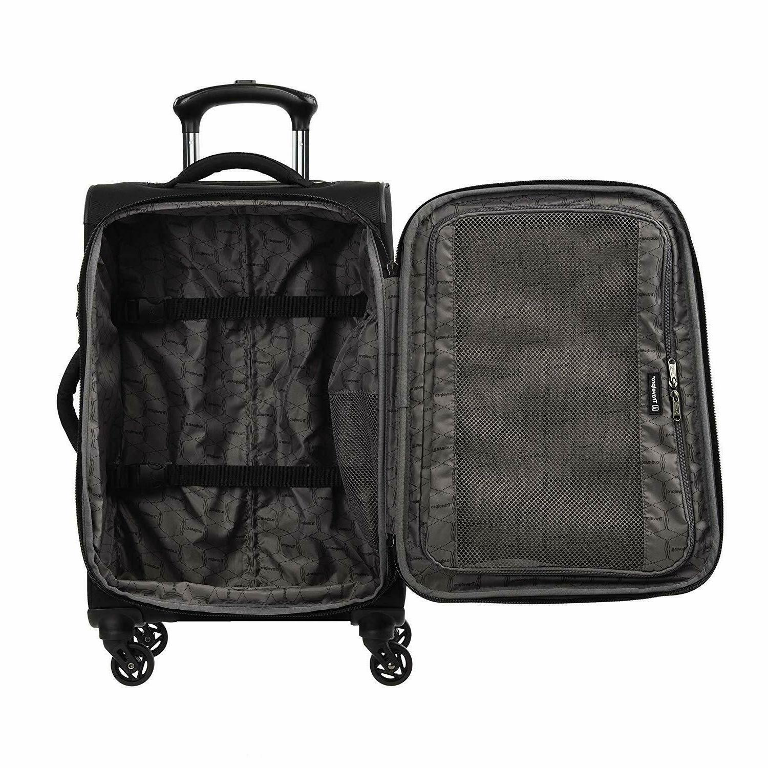 """Travelpro TourGo 20"""" and 25"""" Softside Spinner Set"""