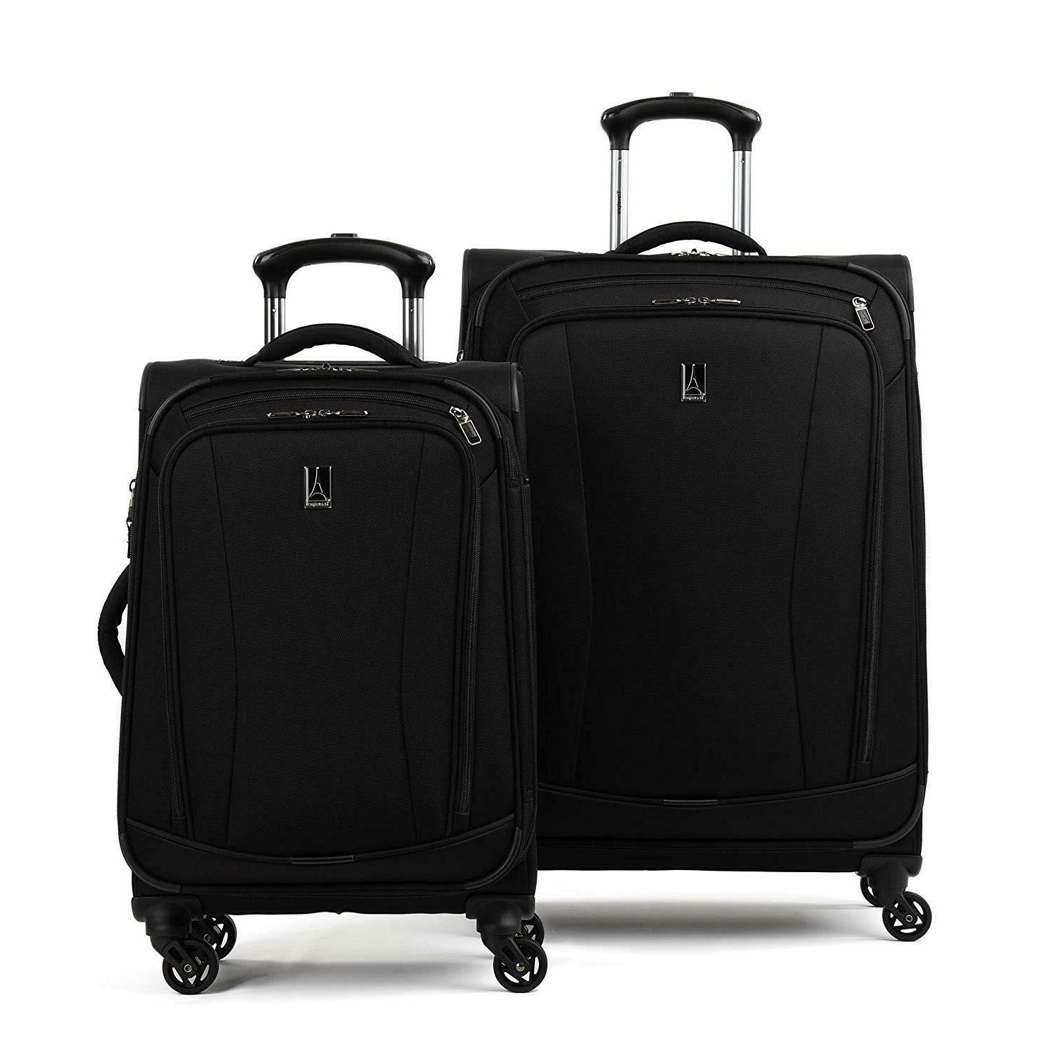 tourgo 20 and 25 softside spinner luggage
