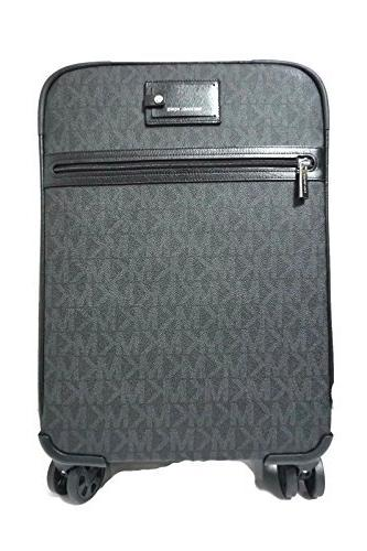 travel trolley carry on suitcase black mk