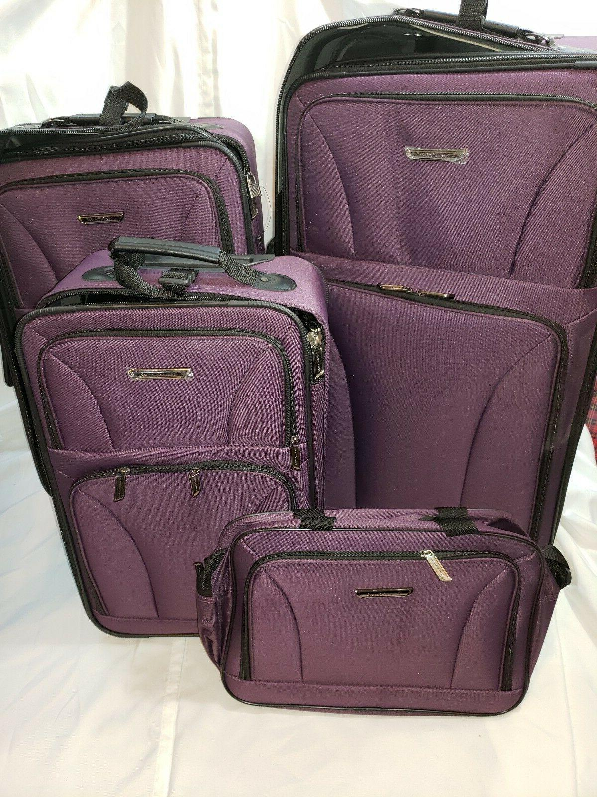 traveler s choice tc0835 versatile 5pc luggage