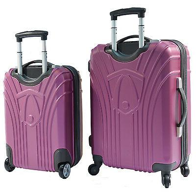 Travelers Choice Navy 2-Piece Carry-on Expandable Spinner