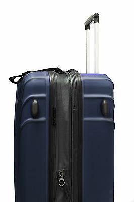 Travelers Choice Cape Navy Carry-on Spinner