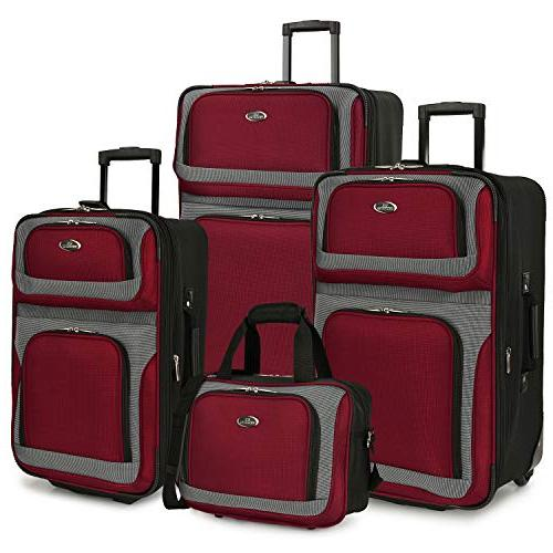 u s traveler new yorker 4 piece