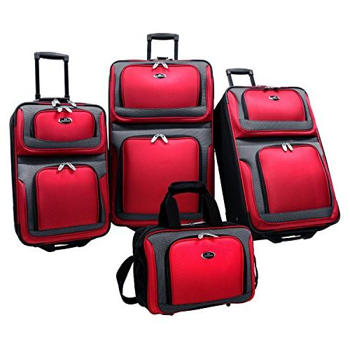 u traveler newyorker luggage set