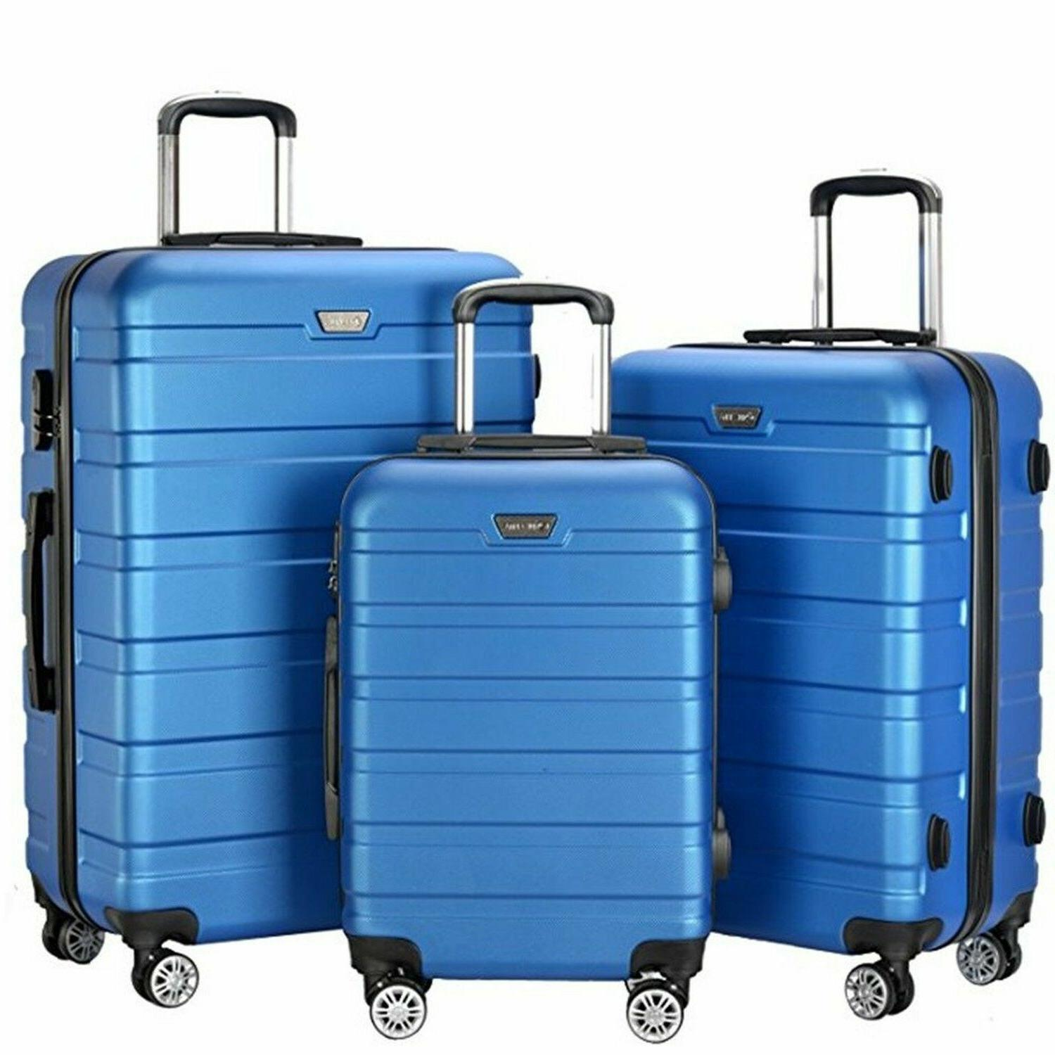 Resena Pieces Luggage with Spinner New