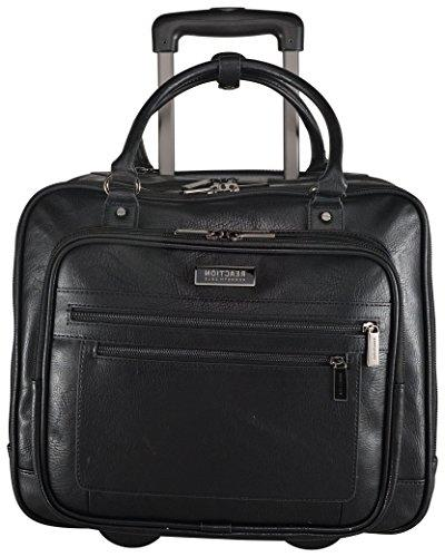 Kenneth Cole Fast Double Zip Wheeled Overnighter