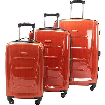 Samsonite Winfield Fashion 3-Piece Hardside Luggage Luggage Set NEW