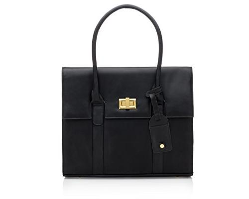 women briefcase shoulder laptop messenger
