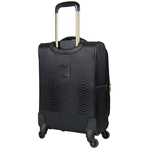 Aimee 3-Piece Luggage Carry-on, Black