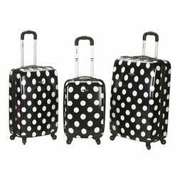 Rockland® 3-pc. Laguna Beach Polycarbonate Upright Lugga