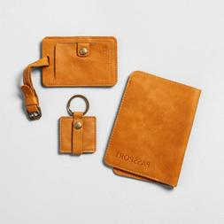 Leather Luggage Set Hearth and Hand Magnolia Passport Holder
