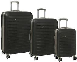 it luggage Legion 3-Piece Dark Grey/Cobblestone Trim 8-Wheel