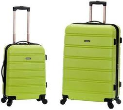 Rockland 2-Piece Lightweight Hardside Spinner Upright Luggag