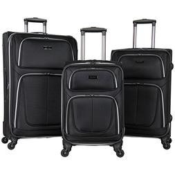 Kenneth Cole Reaction 'Lincoln Square' Softside 3-Piece 4-Wh