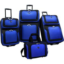 Lugagge Sets For Women Men 4 Piece Rolling Travel Kids Carry