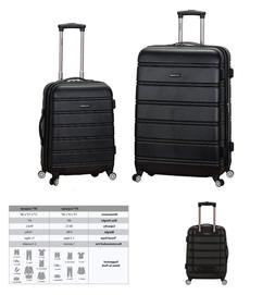 Rockland Luggage 20 Inch And 28 Inch 2 Piece Expandable Spin