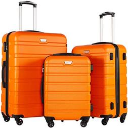 luggage 3 piece set spinner trolley suitcase