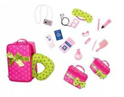 Our Generation® Travel Luggage and Accessory Set