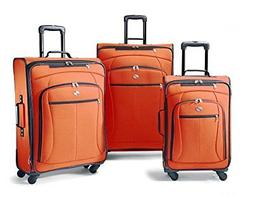 American Tourister Luggage AT Pop 3 Piece Spinner Set One Si
