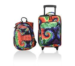 Obersee Kids Luggage and Backpack Set with Integrated Cooler