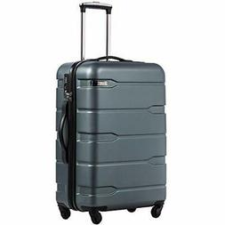 COOLIFE Luggage Expandable Suitcase PC+ABS |Teal.)